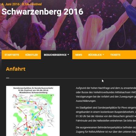 Schwarzenberg / Erzgebirge, Sachsen
